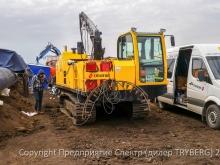 самоходный сварочный агрегат TWM-180 TRYBERG сервис на строительстве трубопровода